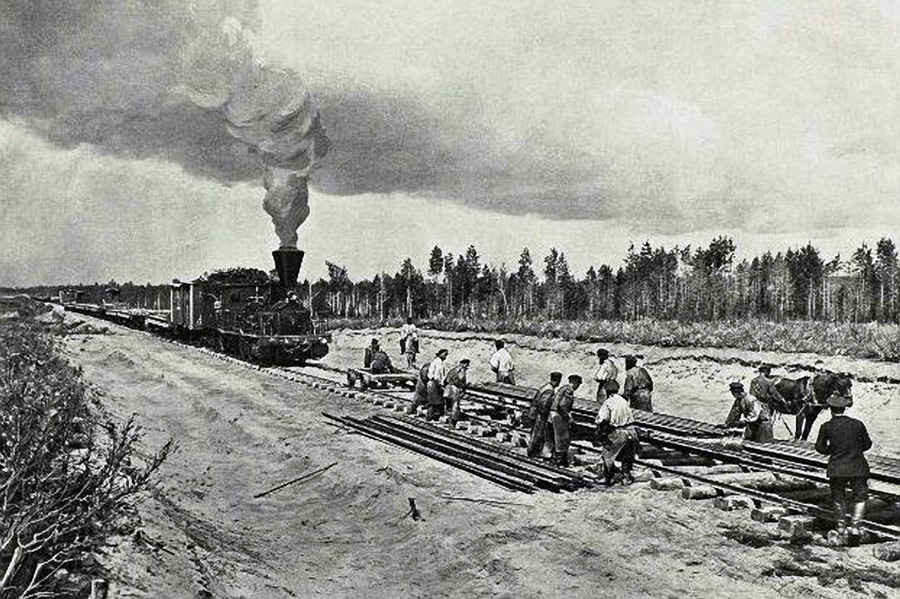 History of the Ovruch to Chernihiv Rail Link