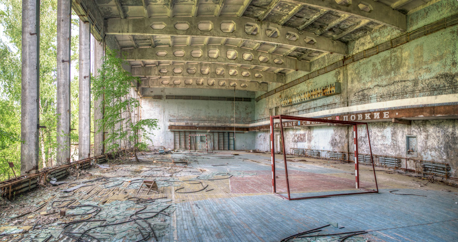Abandoned scenes in Pripyat